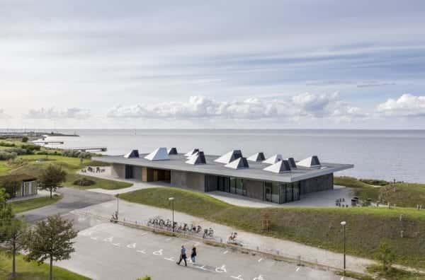 建物そのものが展示物。気候変動を学べる「マルメの海洋教育センター」
