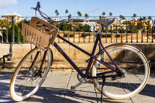 ネスプレッソの使い捨てカプセルからできた自転車「RE:CYCLE」