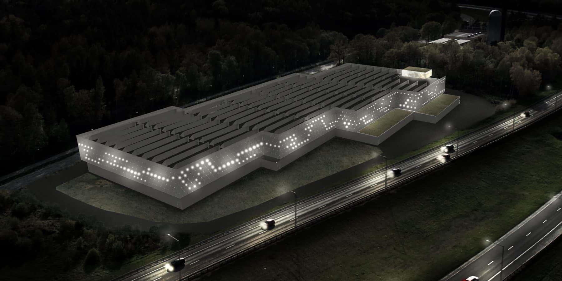 再エネで稼働するデータセンターの廃熱を暖房に利用するストックホルム