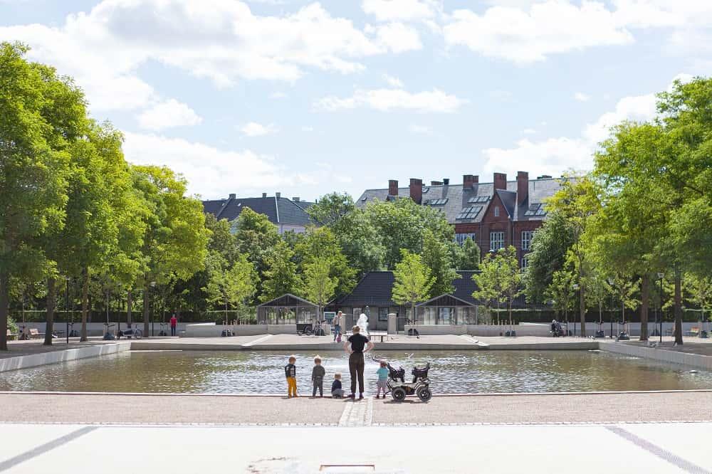 異常気象による洪水から市民を守る、コペンハーゲンの「気候公園」