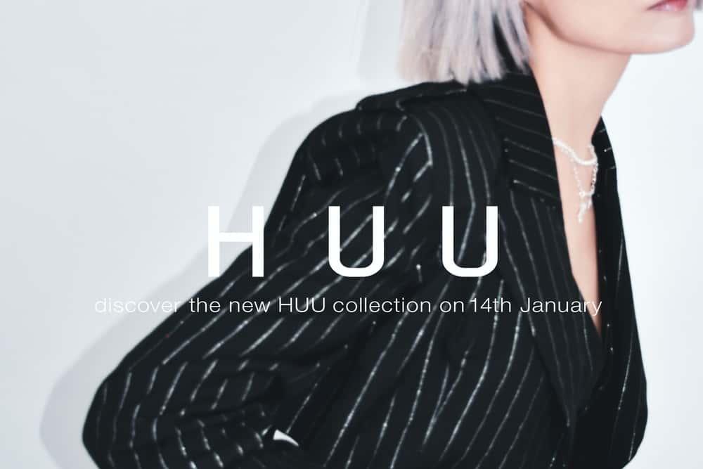 サステナブルな日本発ジェンダーレスブランド「HUU」