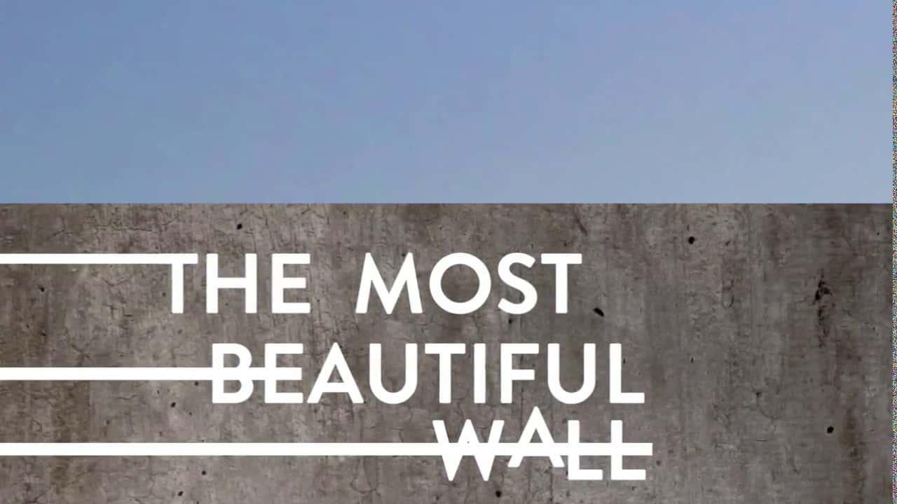 移民の壁をアートで埋め尽くす「The Most Beautiful Wall」