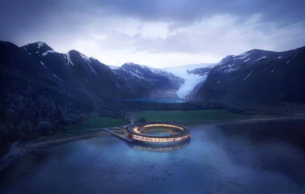 世界初、自らエネルギーを生み出すカーボンポジティブなホテル「Svart」