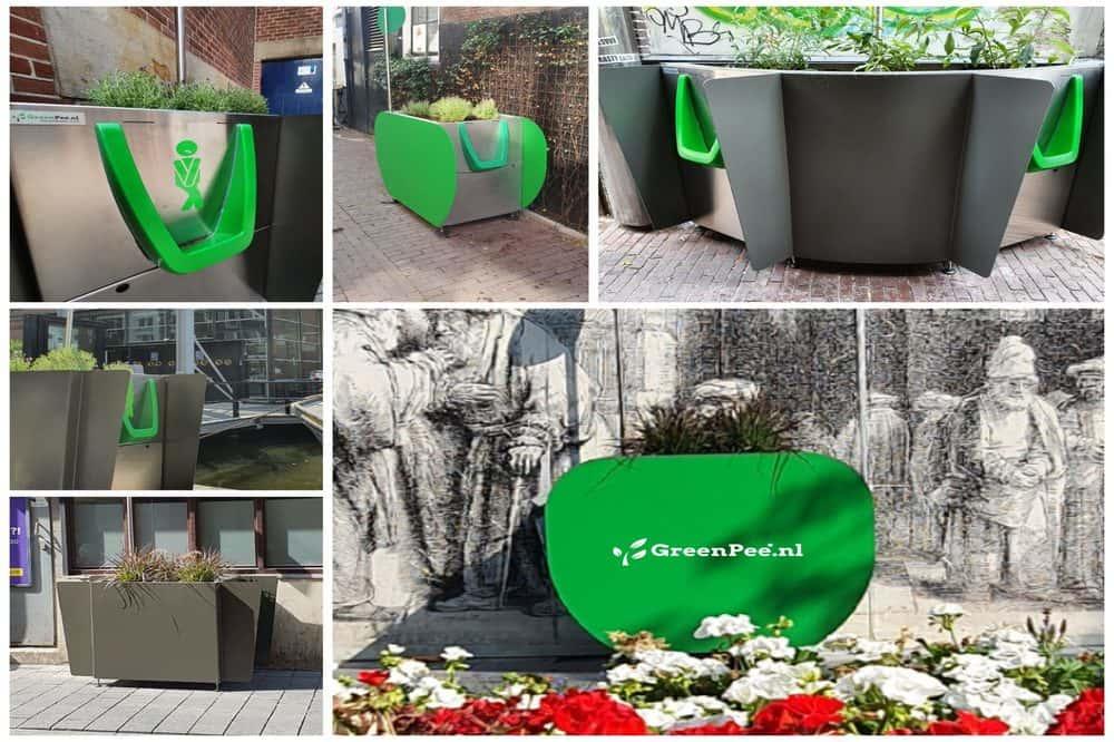 立ち小便をリサイクル。尿が水と肥料になる公衆トイレ