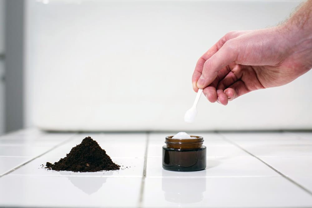 コーヒーかすからパーム油の代替品をつくるプロジェクト