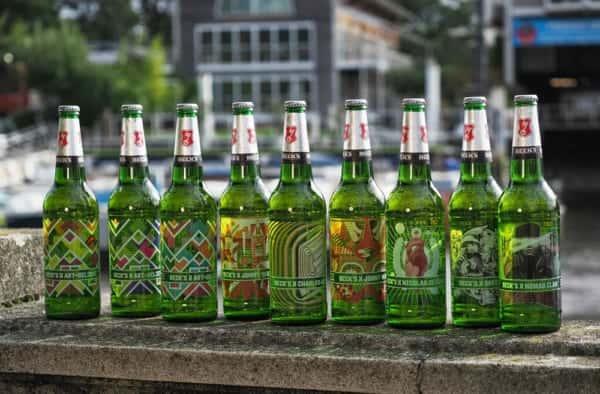 瓶にブランド名を「直接タトゥー」するベルギーのビール会社
