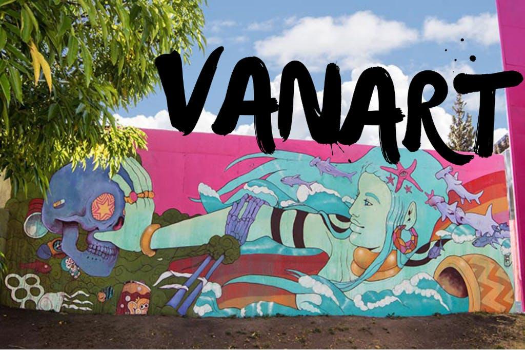 アートで社会問題を見つめ直すライブペイントイベント「VANART」