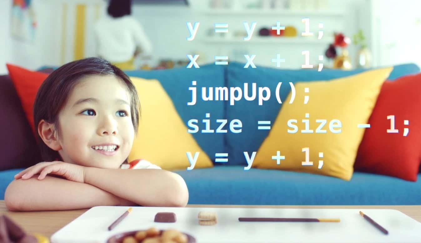 ポッキーを食べながら学ぶ、「おいしい」プログラミング