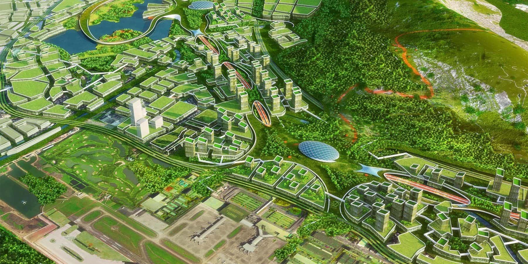 世界初、ドローン専用の高速道路?深圳が描く未来都市