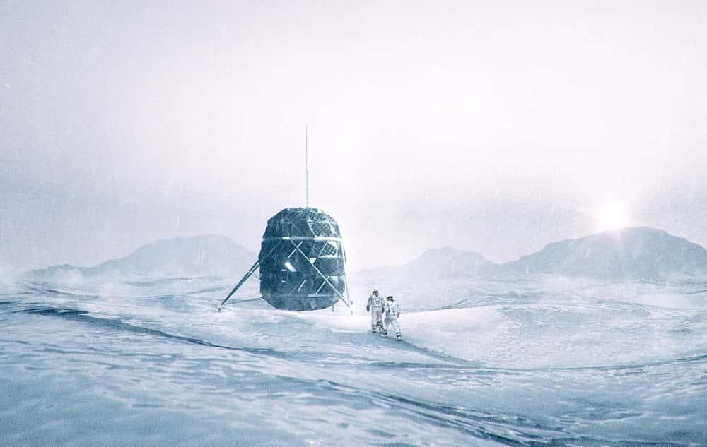 グリーンランドでミッション訓練をする、月に住める家「LUNARK」