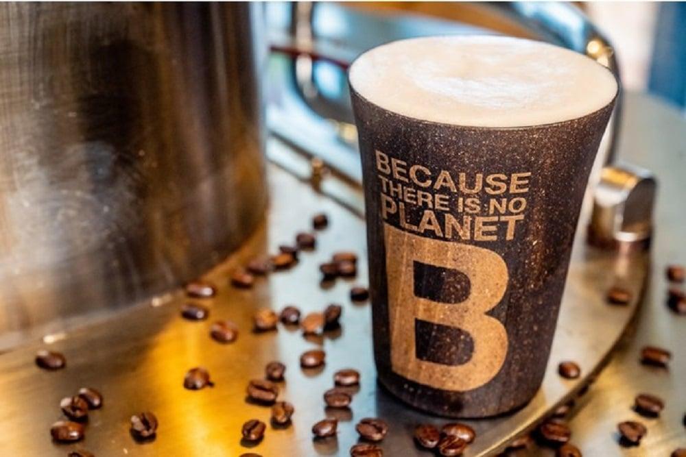 アサヒグループとエコアルフの廃棄コーヒー豆で作るビール「UPCYCLE B」