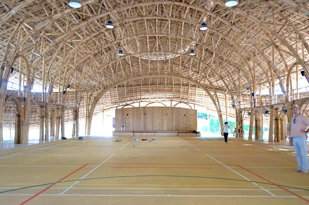 世界最大の竹でできた学校「Panyaden International School」