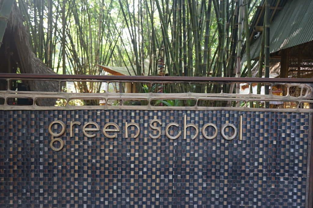 起業家教育をする竹でできた学校「Green School」