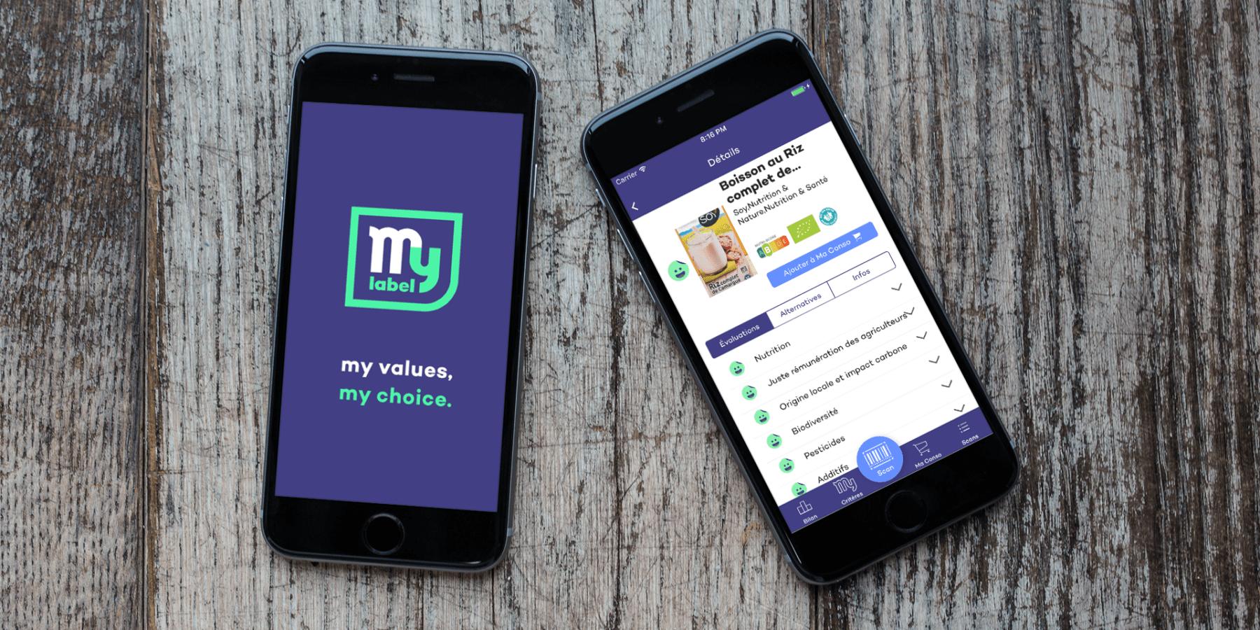 ユーザーが求めるエシカルに合った商品を教えてくれるアプリ