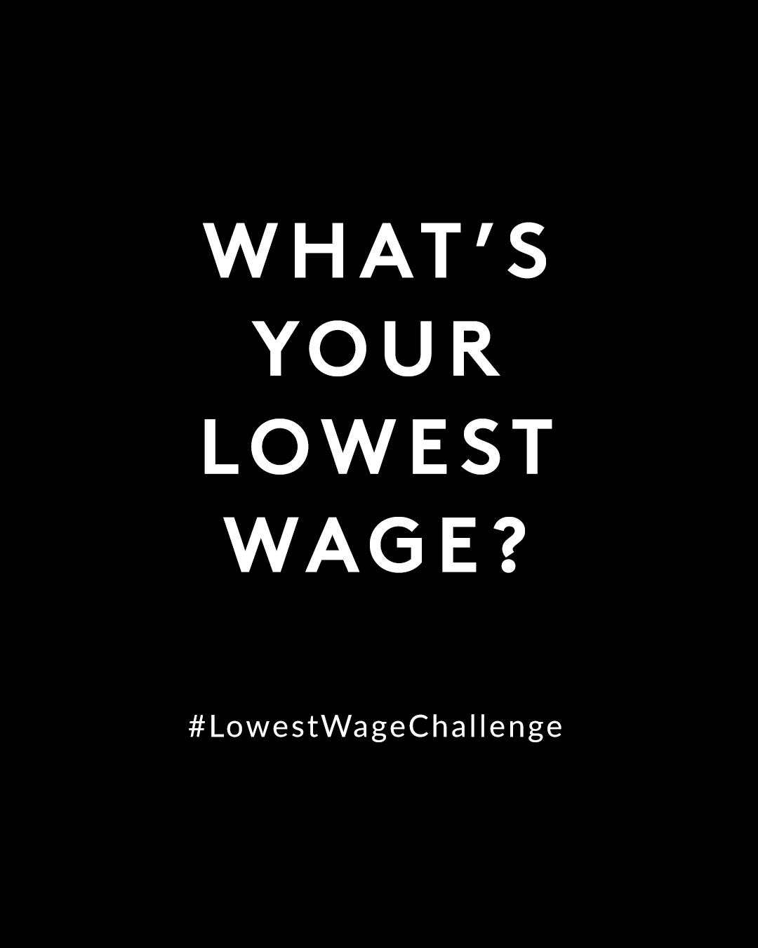 SNSで衣服労働者の環境改善へ「#LowestWageChallenge」