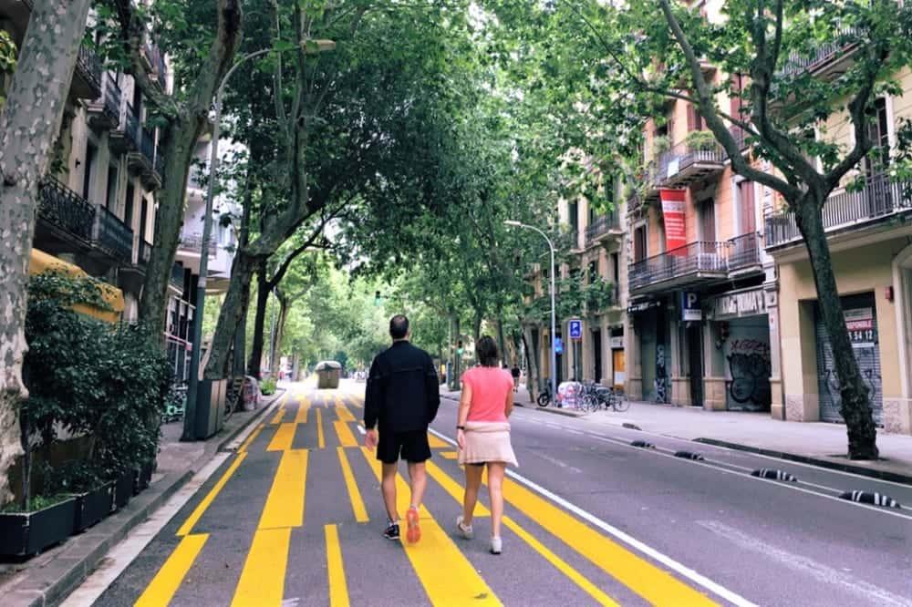 ポストコロナのまちづくりを小さく実験。バルセロナの「タクティカル・アーバニズム」