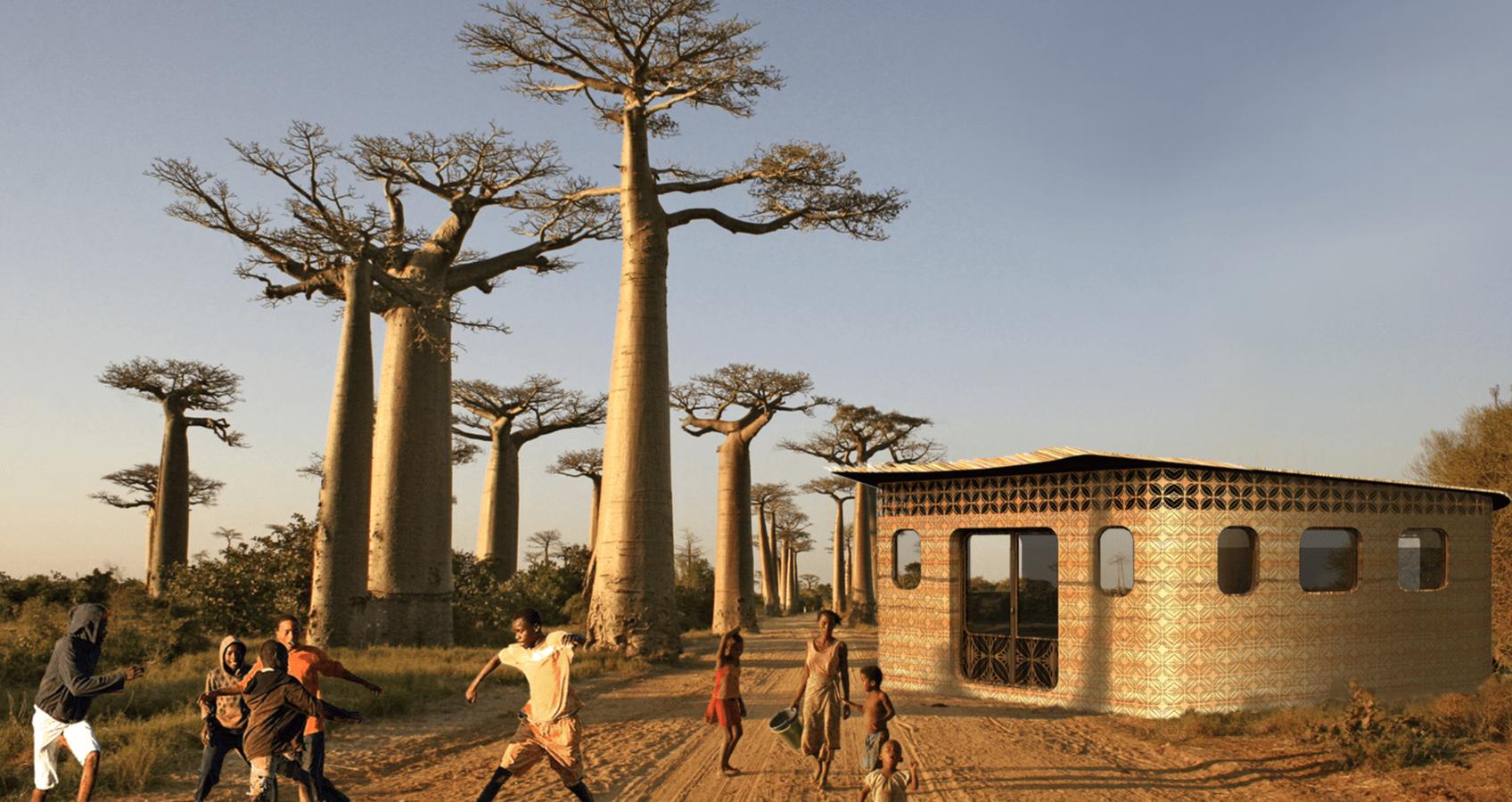 教育のアクセス拡大を加速する、マダガスカル発3Dプリンター製の学校