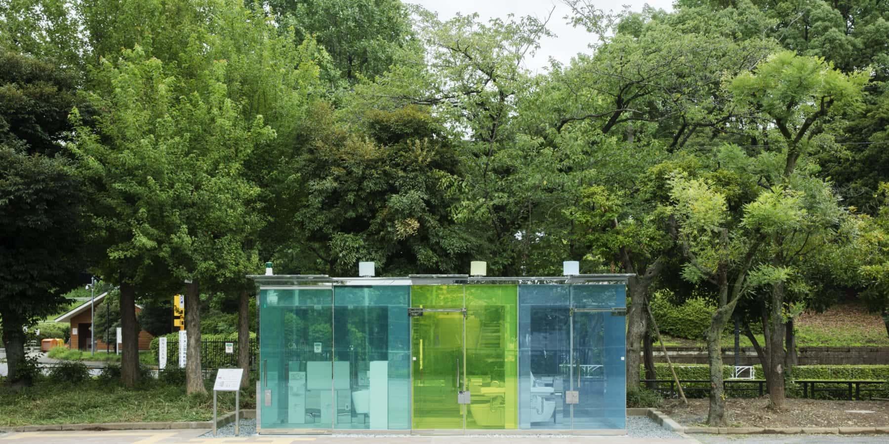 渋谷に現れた透明なトイレ。公共トイレを変革する「THE TOKYO TOILET」