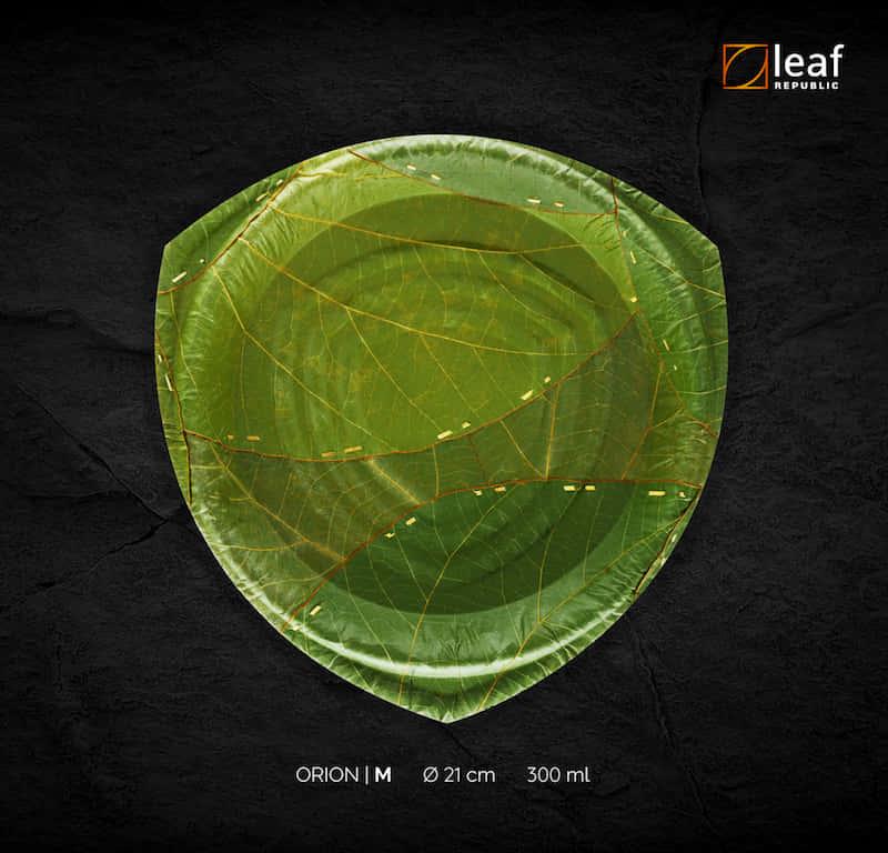 ドイツ発、3Dプリンターでつくった100%植物由来の堆肥化可能なお皿