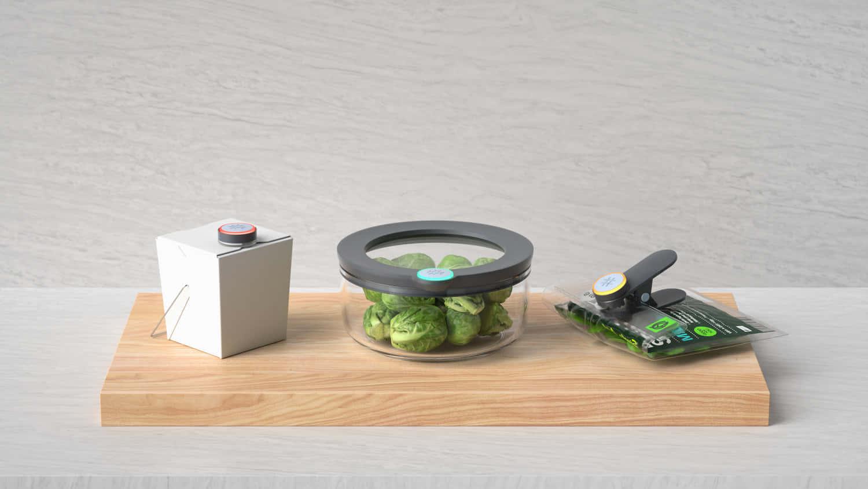 テクノロジーで食料廃棄を減らす、AI搭載タッパー「Ovie Smartware」