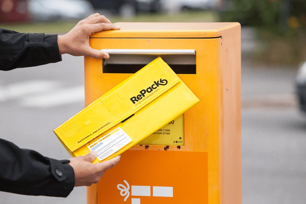 宅配ごみを減らす。ポストで返せる再利用可能な配送パッケージ「RePack」
