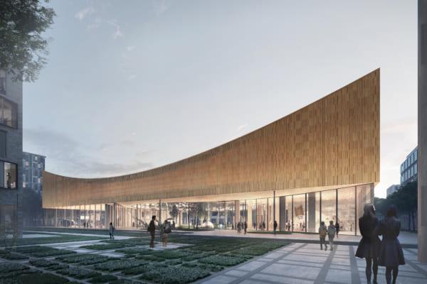 屋上サイクリングで発電するカーボンニュートラルな博物館