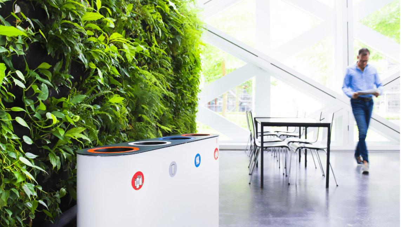 循環型のゴミ箱をデザインするオランダ「LUNE」