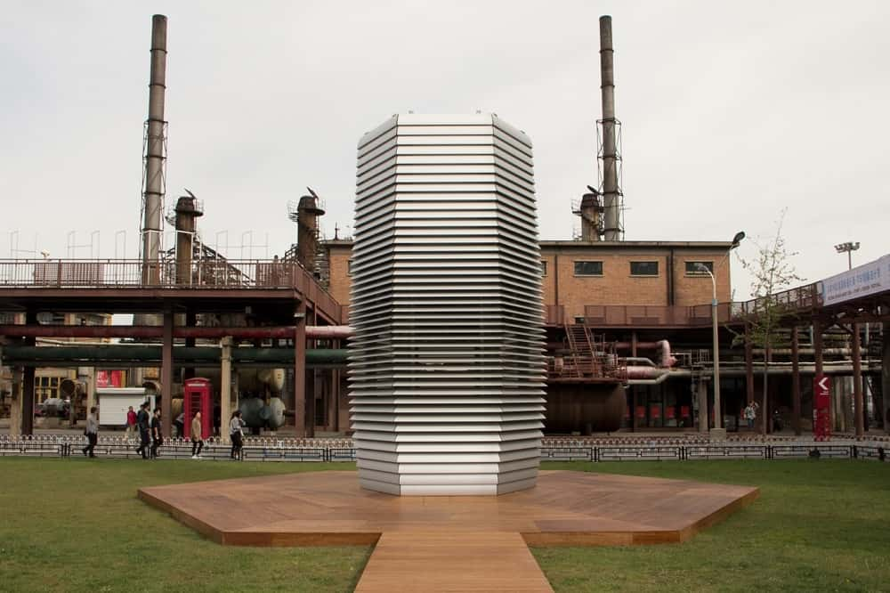 オランダ発、大気汚染から宝石を作りだす巨大なスモッグ掃除機