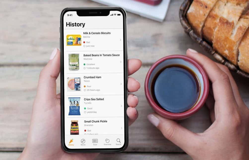 食品のバーコードから「健康レベル」を測るフランスのアプリ