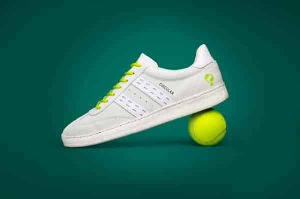 オランダ銀行ABN AMROが魅せる、廃棄テニスボールのアップサイクル