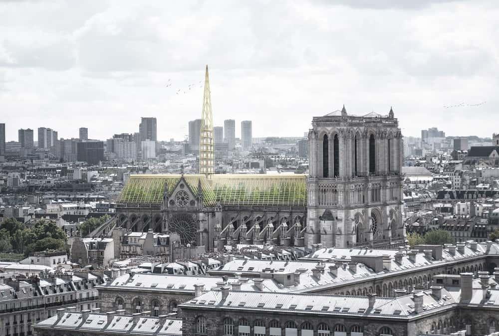 パーマカルチャ―を学ぶ。ノートルダム大聖堂のサステナブルな再建アイデア