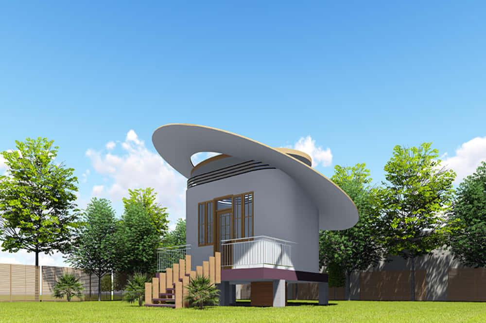 「安全な水」のための建築アイデア。ケニア発、竹とプラスチックの水道センター