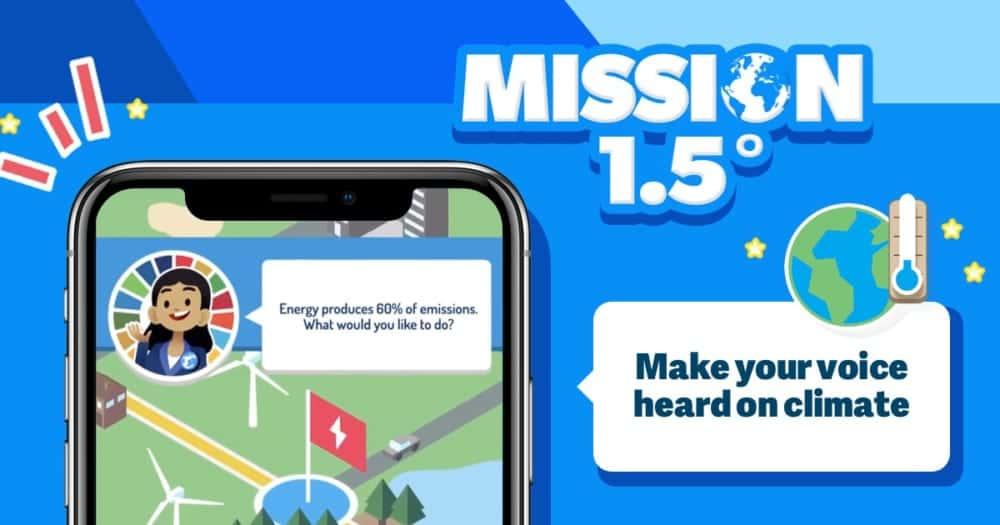 気候変動対策に対する市民と政府の認識ギャップを埋めるゲーム「Mission 1.5」