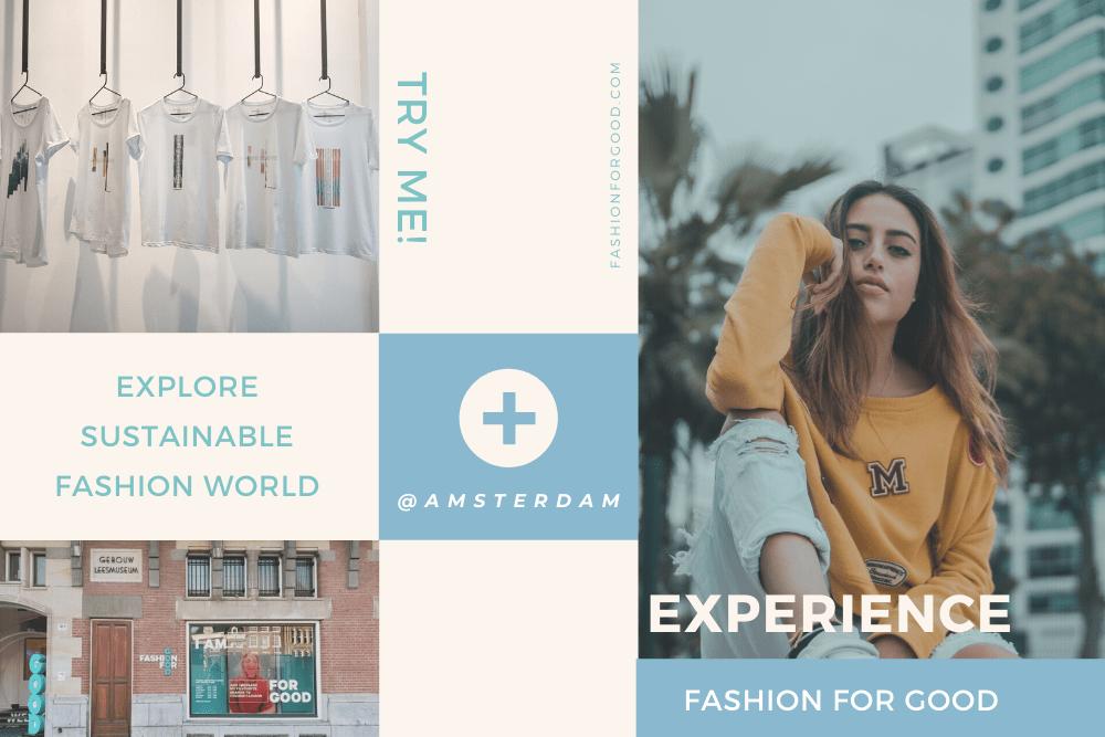 世界初のサステナブルファッションミュージアム「Fashion for Good」