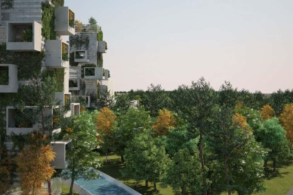 都市を丸ごと森にする。大気汚染に悩む中国が考えた「Forest City」