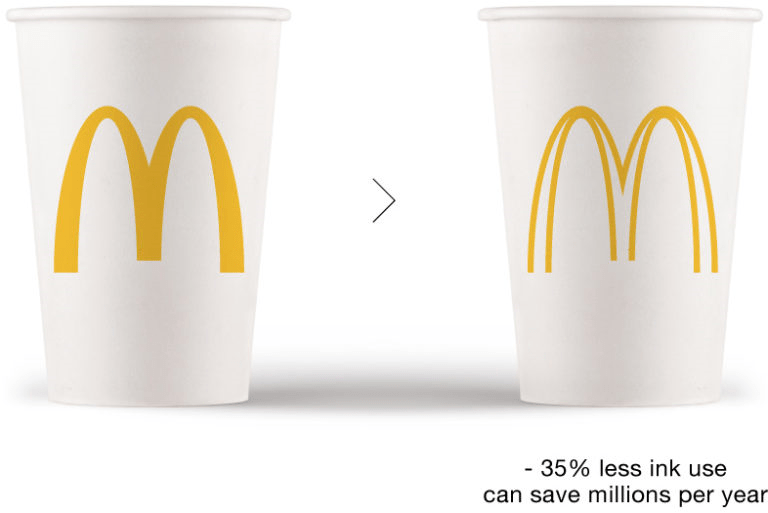 ブランドロゴを美しく、もっとエコに、もっと低コストにする「Ecobranding」