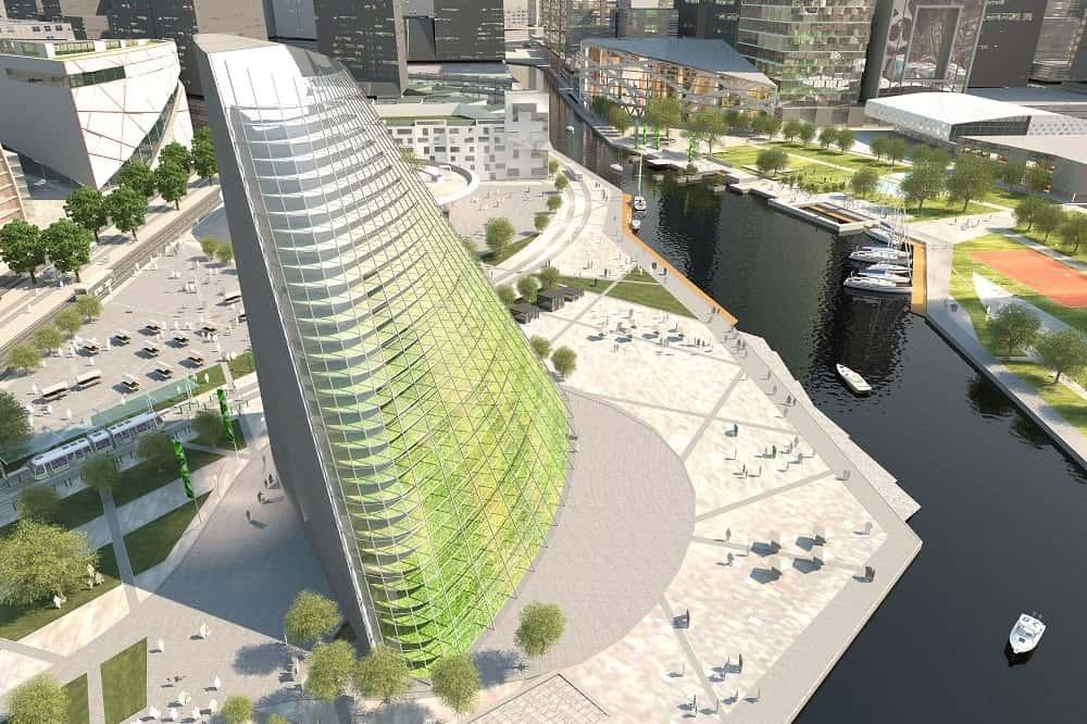 スウェーデン発。農業とオフィスが共存した高層ビル「World Food Building」