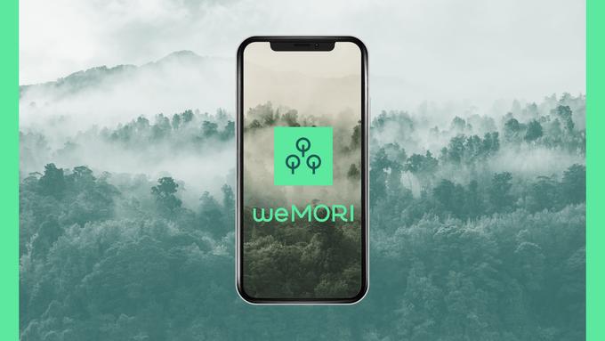 ワンタップで寄付できる森林再生アプリ「weMORI」