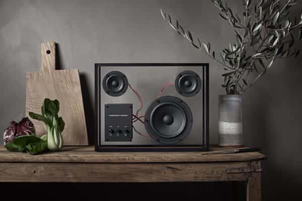 使い捨ては終わらせる。スウェーデン発の透明なスピーカー「Transparent Speaker」