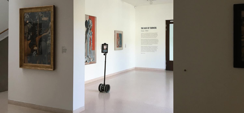 自宅待機期間に彩りを。ロボットを使った美術館リモートツアー