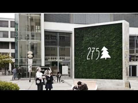 都市の空気清浄機。ドイツ生まれのIoTグリーンウォール「City Tree」
