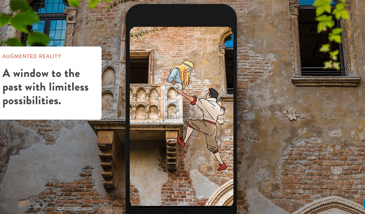 誰でも過去にタイムスリップでき、歴史が面白くなるARアプリ「Nexto」