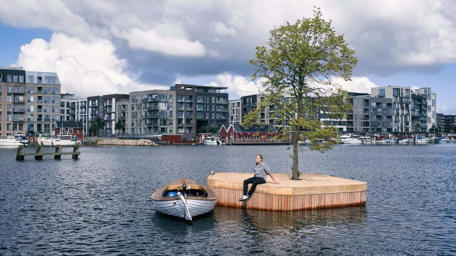 人々の公共スペースを取り戻す、コペンハーゲン港の海上公園「Parkipelago」