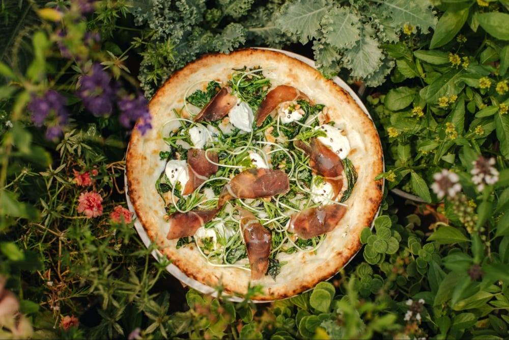 現代のフードシステムに疑問を投げかける、10周年記念の「農場ピザ」【Pizza 4P's「Peace for Earth」#10】