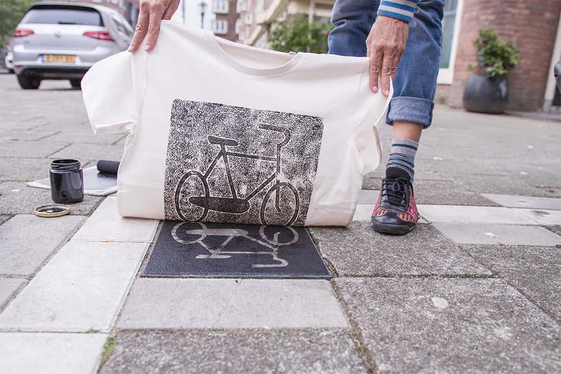 ベルリン発、街を印刷するアートプロジェクト「Raubdruckerin」