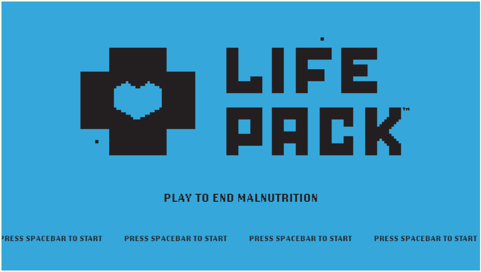 栄養失調の子供に寄付できるレトロゲーム 「LifePack」