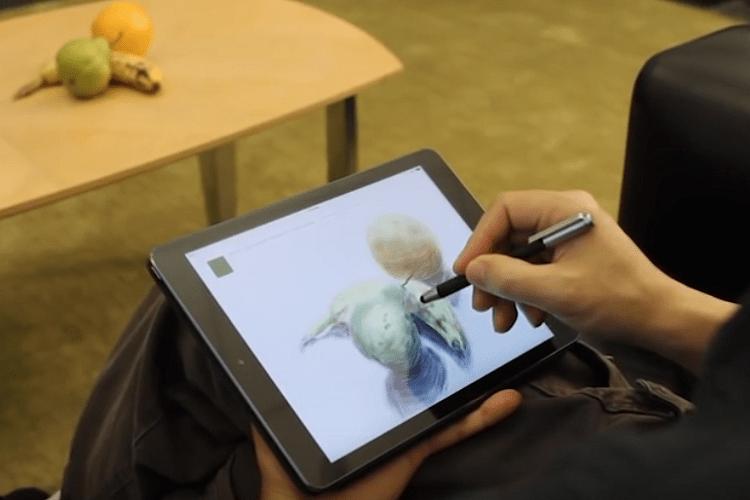 タブレットでリアルな油彩画が描けるアプリ