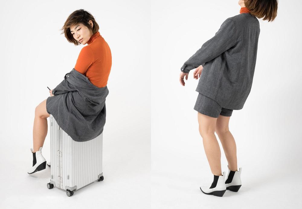 活性炭で空気を浄化する服「on-journey wear」