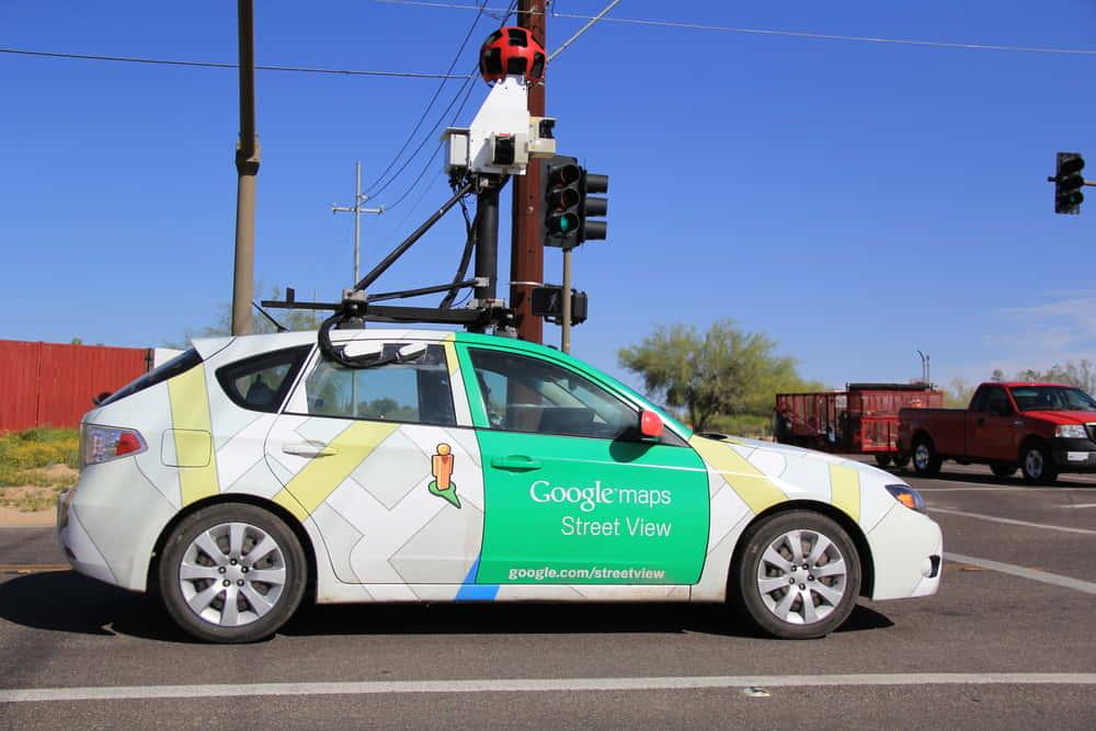 メタンガス漏れを検知するGoogleのストリートビューカー