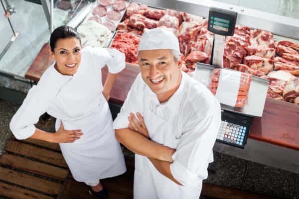 環境負荷の大きい肉消費を減らすため、代替肉を販売する肉屋